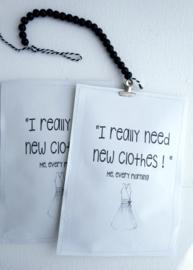 Geursachet new clothes  6 st.