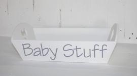 dienblad groot Babystuff 2stuks