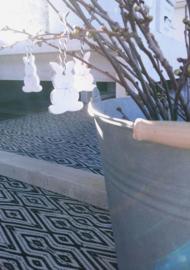 Hase Keramik 4x - 4 st.