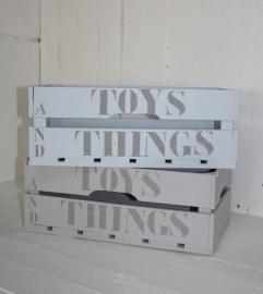 """Große Kiste """"Toys ans Things"""" 1 St."""