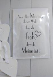 Duft sachet Von allen Mamas.. 6 St.