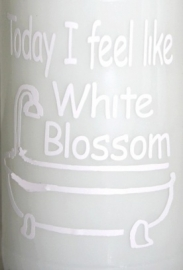 Today I feel like White Blossom 2 stuks