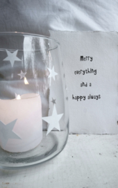 Kaart A5 Merry Everythings 4 st.