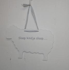 """Schaap """"Slaap kindje slaap....""""4 stuks"""