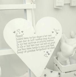 Hart xxl gedichtje Feest
