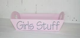 Dienblad groot Girlsstuff 2 stuks