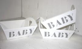 Dienblad BABY 2 stuks