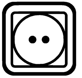 Sticker Wassymbolen Droger 6 st.