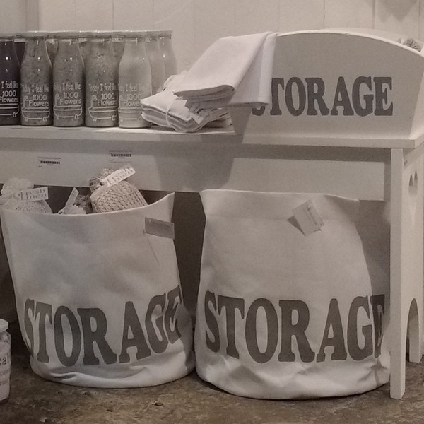 Opbergmand canvas Storage