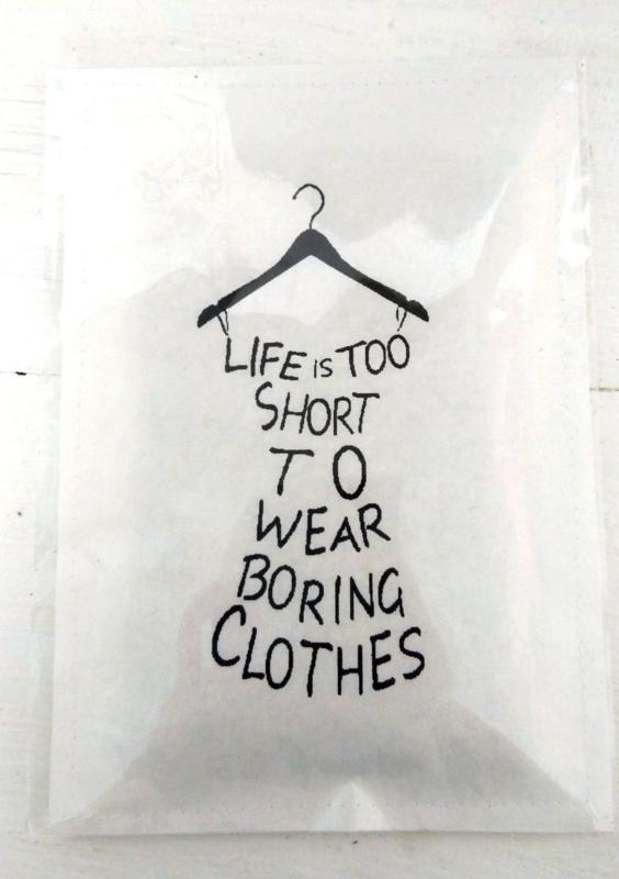 Geursachet Life is too short  6 st.