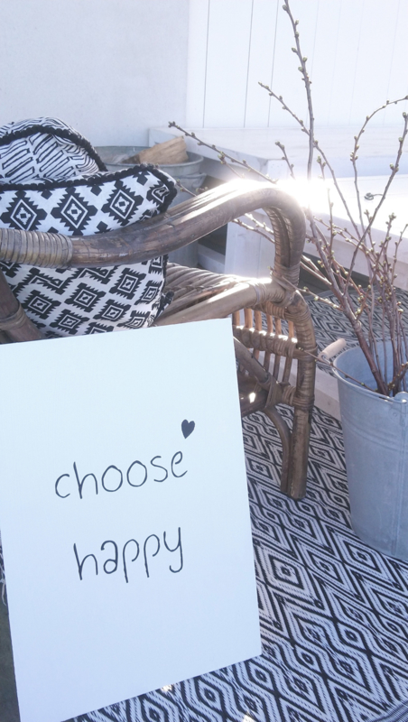 Canvaspaneel Choose Happy 2 st.