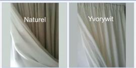 Gordijnen linnen gevoerd