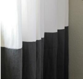 Gordijnen met kaderrand/zeilringen