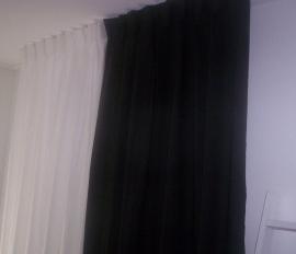 Gordijnen zwart
