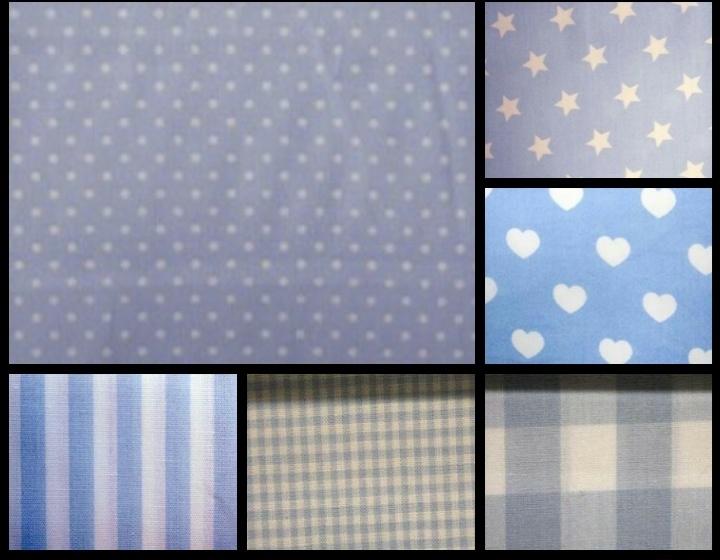 Kleuren zachtblauw