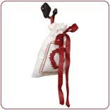 Potpourrie zakje rood Romantic Rose Clayre & Eef