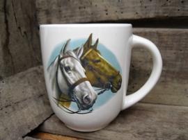 Mok dubbel paardenhoofd