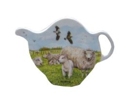 Theezakjeshouder schapen & lammetjes