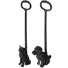 Deurstopper met handvat hond of deurstopper kat LH123 Esschert Design