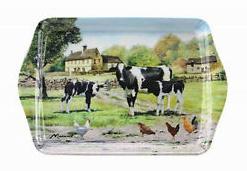 Melamine dienblad The Farmyard Cow Leonardo