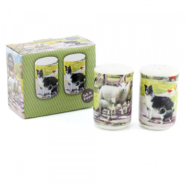 Peper & zoutstel Macneil Collie & Sheep Leonardo Collectie
