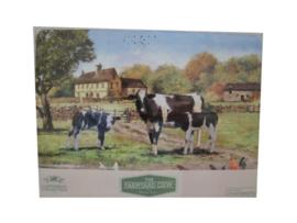 Set van 4 placemats Farmyard Cow Leonardo