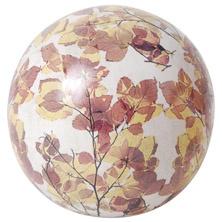 Keramiek bal 12 cm herstbladeren AC130 Esschert Design