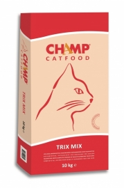 Dubbelpak! Champ Catfood 2x10 kg