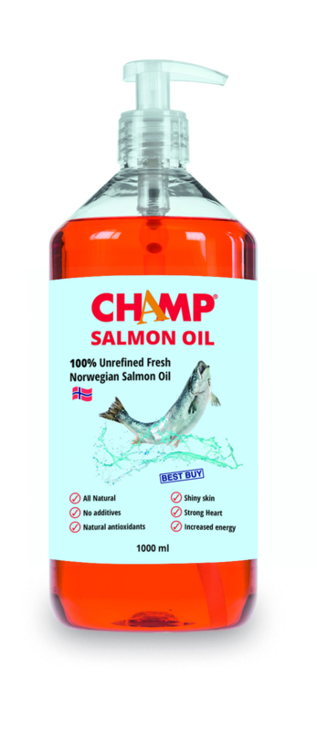 CHAMP Zalm Oil  1000 ml
