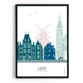Poster Lisse in kleur