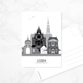 Ansichtkaart Leiden
