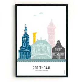 Roosendaal | A3 Poster - kleur SALE
