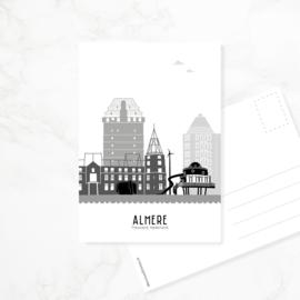 Ansichtkaart Almere