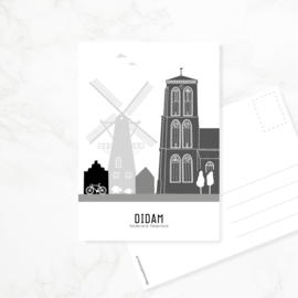Ansichtkaart Didam
