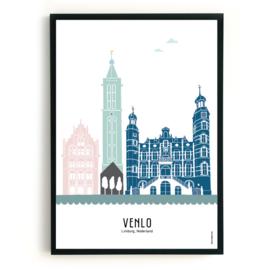 Poster Venlo in kleur