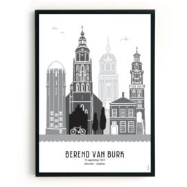 Geboorteposter Deventer-Zutphen - Berend