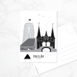 Ansichtkaart Friesland | Fryslân