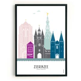 Poster Zierikzee - Zuiver