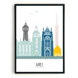 Poster Goes in kleur
