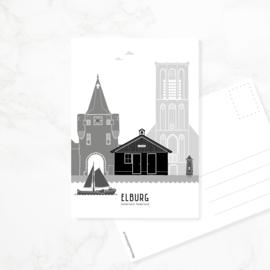 Ansichtkaart Elburg