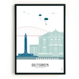 Poster Oosterbeek in kleur