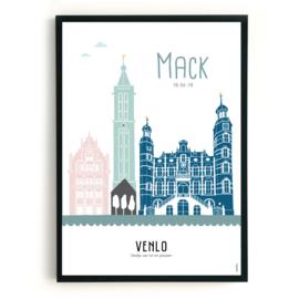 Geboorteposter Venlo - Mack
