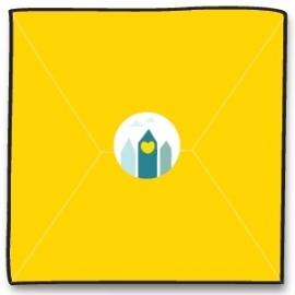 Sluitzegel - geel
