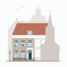 Ontwerpkosten Huisportret + klus-huisportret Ooltgensplaat