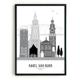 Geboorteposter Zutphen - Karel