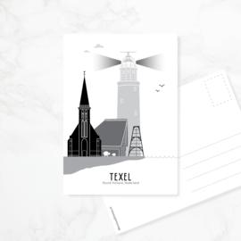 Ansichtkaart Texel