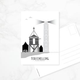 Ansichtkaart Terschelling