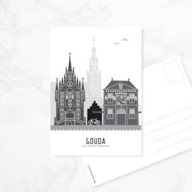 Ansichtkaart Gouda