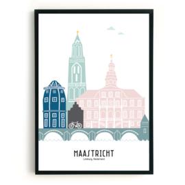 Maastricht | A3 Poster -  kleur SALE