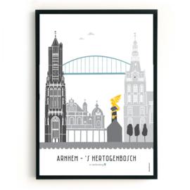 Familieposter Arnhem-DenBosch
